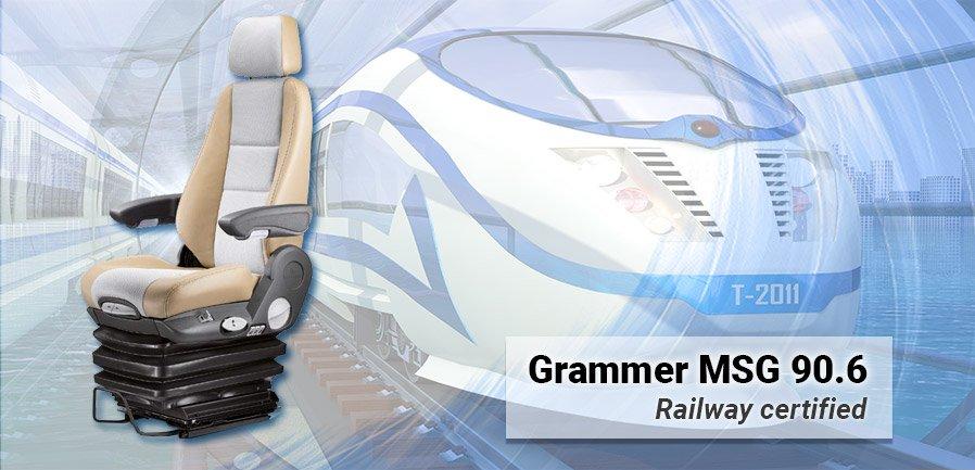 Grammer MSG90.6 Railway Certified